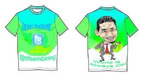 Lomba Desain Tshirt #bingkisanutkfollowers
